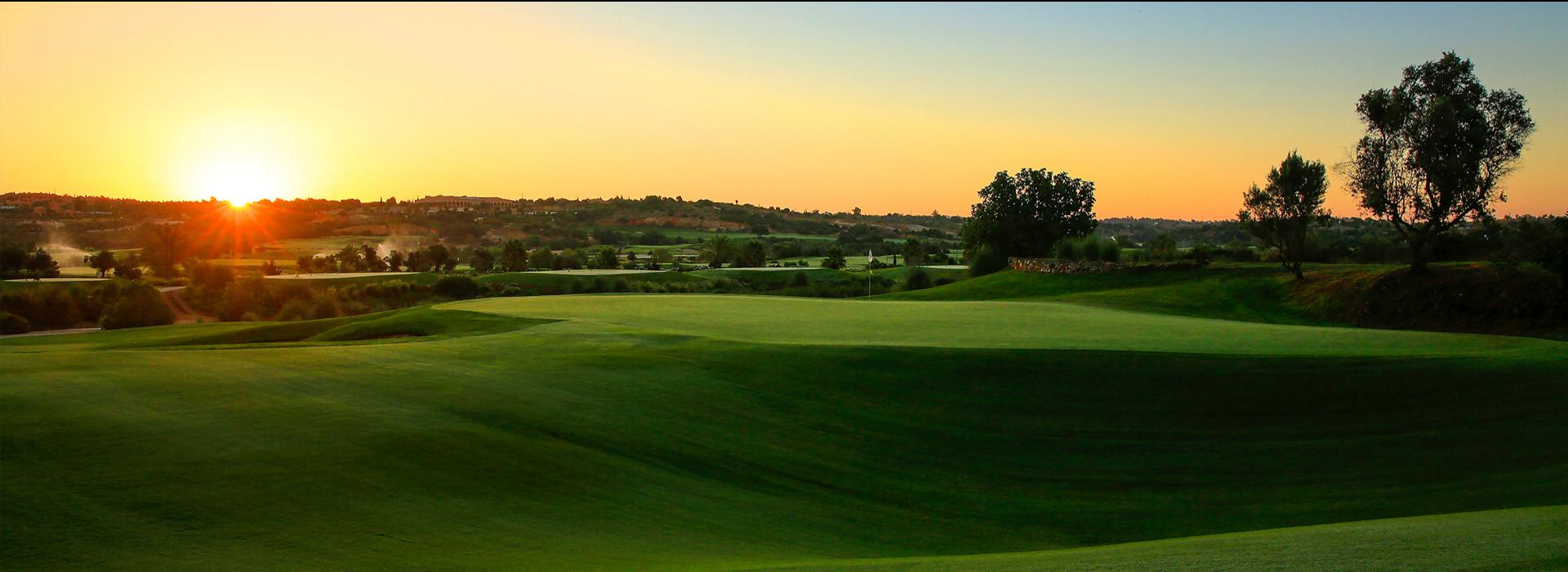 Faldo course at dawn