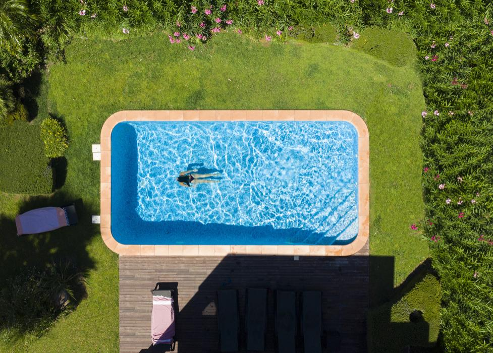 Property Pool Aerial View
